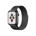 Apple Watch Serie 5 GPS + 4G 44MM Space Black Stainless Steel + Correa Milanese Loop Space Black