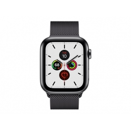 Apple Watch Serie 5 GPS + 4G 44MM Space Black Stainless Steel + Correa Milanese Loop Space Black