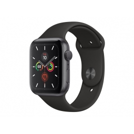 Apple Watch Serie 5 GPS + 4G 44MM Space Grey Aluminium + Correa Sport Black