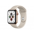 Apple Watch Serie 5 GPS + 4G 44MM Gold Stainless Steel + Correa Sport Stone