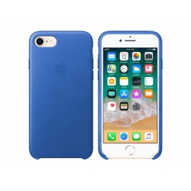 Funda iPhone 8 / 7 Apple Leather Case Electric Blue