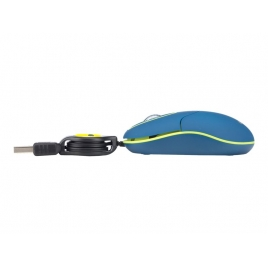 Mouse NGS SIN 1000 DPI Blue/Green USB