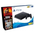 Consola Sony PS4 Slim 1TB + red Dead 2 + GTA V Premium
