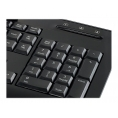 Teclado Conceptronic Ckbesmartid con Smart Card Black