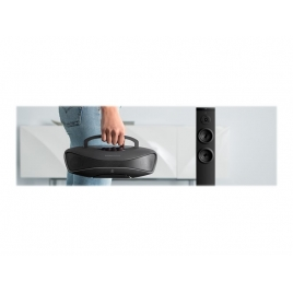 Philips Essential Care HP8321 - Enderezador - negro / plateado