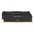 DDR4 8GB BUS 2400 Crucial CL16 Ballistix Black KIT 2X4GB
