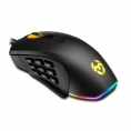 Mouse Krom Optical Kammo MMO 10.000DPI Retroiluminado 14 Botones USB
