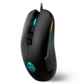 Mouse Krom Optical Movistar Riders Avago 7200DPI Retroiluminado USB Black