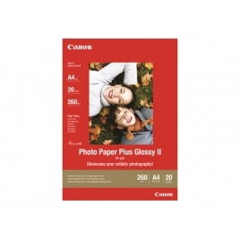 Papel Canon Fotografico PP-201 Photo Plus Glossy II A4 20H