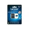 Memoria Micro SD Lexar 16GB Class 10 95Mpbs + Adaptador