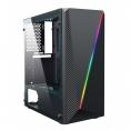 Caja Mediatorre ATX Deep Gaming Deep Abyss RGB USB 3.0 Window Black
