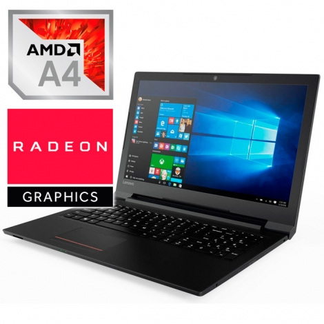 "Portatil Lenovo V145-15AST AMD A4-9125 8GB 256GB SSD 15.6"" HD Radeon R3 W10 Black"