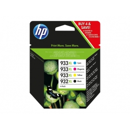 Cartucho HP 932Xl/933Xl Multipack Officejet 6100 6600
