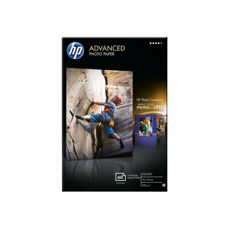 Papel HP Glossy Photo 10X15CM Satinado 60H