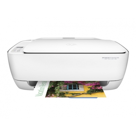 Impresora HP Multifuncion Deskjet 3636 20PPM USB WIFI White