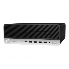 Ordenador HP Prodesk 405 G4 SFF Ryzen 5 PRO 2400G 8GB 256GB SSD RX Vega 11 Dvdrw W10P