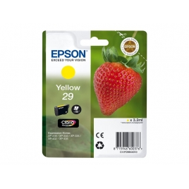 Cartucho Epson 29 Yellow XP-235 XP-332 XP-335 XP-432 XP-435