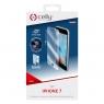 Protector de Pantalla Celly Cristal Templado Black para iPhone 7/8/SE