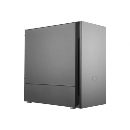 Caja Mediatorre Matx Cooler Master S400 Silencio USB 3.2 Black