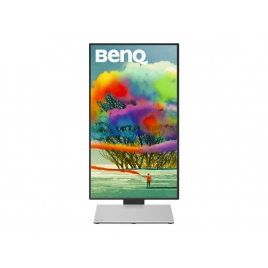 "Monitor Benq 27"" QHD Pd2710qc 2560X1440 2ms VGA HDMI DVI DP Piv Black"