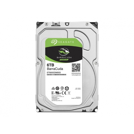 Disco Duro 6TB Sata6 256MB Seagate Barracuda 5400RPM