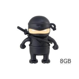Memoria USB Silver HT 8GB ONE Ninja Black