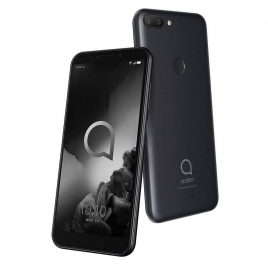 "Smartphone Alcatel 1S 5.5"" IPS OC 4GB 64GB 4G Android 9 Black"