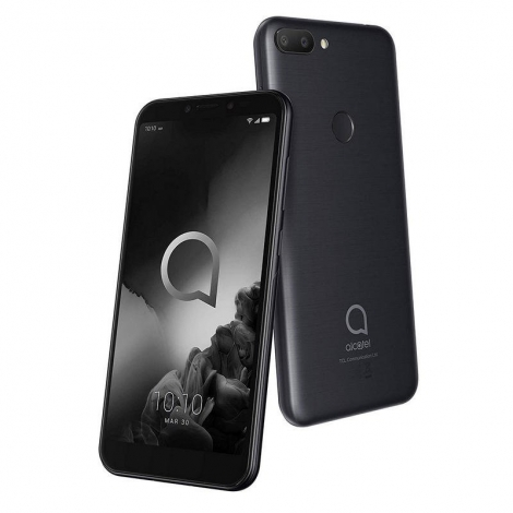 "Smartphone Alcatel 1S 5.5"" IPS OC 4GB 64GB 4G Android 9 Black"