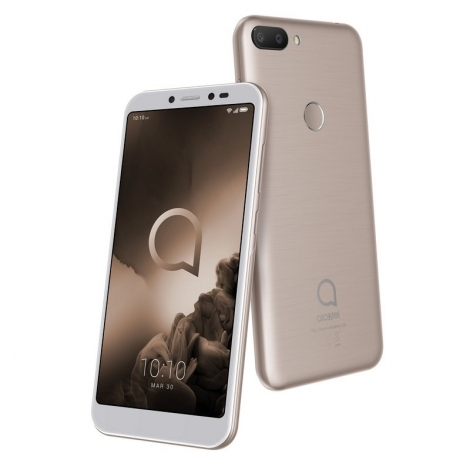 """Smartphone Alcatel 1S 5.5"""" IPS OC 4GB 64GB 4G Android 9 Gold"""