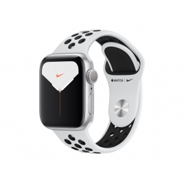 Apple Watch Nike+ Serie 5 GPS 40MM Silver Aluminium + Correa Nike Sport Pure Platinum/Black