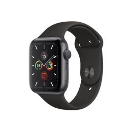 Apple Watch Serie 5 GPS 44MM Space Grey Aluminium + Correa Sport Black