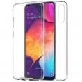 Funda Movil Back + Front Cover HT Silicona 3D Transparente para Samsung A50