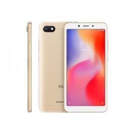 "Smartphone Xiaomi Redmi 6A 5.45"" QC 2GB 32GB 4G Android 8.1 Gold"