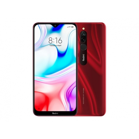 "Smartphone Xiaomi Redmi 8 6.22"" OC 3GB 32GB 4G Android 9 red"