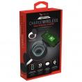 Cargador Inalambrico Helix QI Dual 3A 10W Black