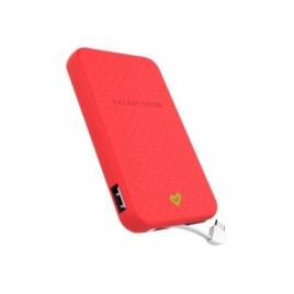 Bateria Externa Universal Energy 5.000MAH Micro USB Coral