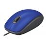 Mouse Logitech Optical Wheel Mouse M110 Silent USB Blue