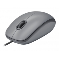 Mouse Logitech Optical Wheel Mouse M110 Silent USB Medium Grey
