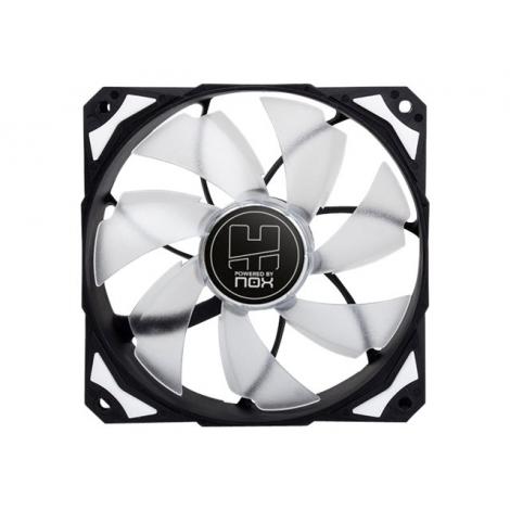 Ventilador 12CM 120X120x25mm NOX H-FAN LED White