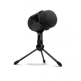 Microfono Mano Krom Kimu USB Black
