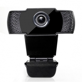 Webcam Fujikam 812H 1080P 90º Black