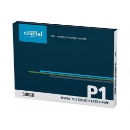 Disco SSD M.2 Nvme 500GB Crucial CT500 2280