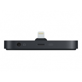 Base Dock Apple Lightning Black para iPhone