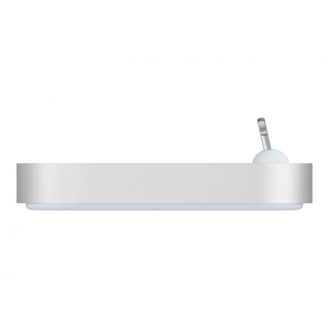 Base Dock Apple Lightning Silver para iPhone