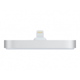 Base Dock Apple Lightning Silver para iPhone