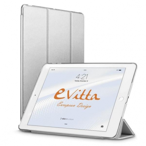 Funda Tablet E-VITTA Triflex iPad 9.7'' 2017-2018 Silver