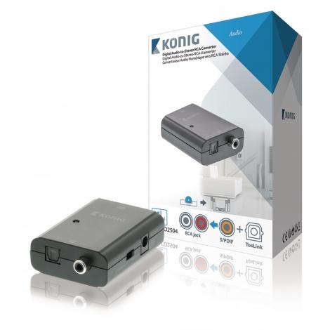 Conversor Nedis Audio Digital / RCA