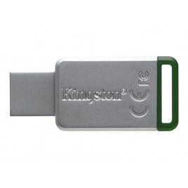 Memoria USB 3.1 Kingston 16GB DT50 Silver/Green