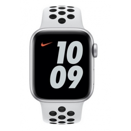 Apple Watch Nike Serie se GPS 40MM Silver Aluminium + Correa Nike Sport Pure Platinum/Black