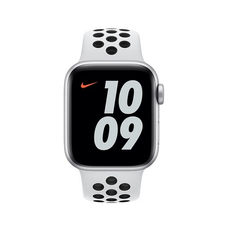 Apple Watch Nike Serie se GPS 40MM Silver Aluminium + Correa Nike Sport Pure Platinum/Black